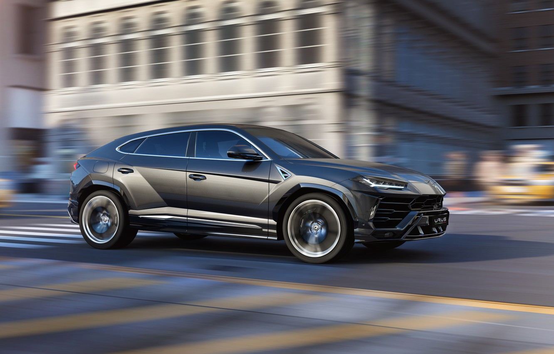 Photo wallpaper speed, Lamborghini, 2018, Urus