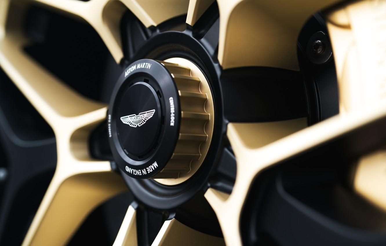 Photo wallpaper Aston Martin, coupe, Zagato, 2020, V12 Twin-Turbo, DBS GT Zagato, 760 HP, Central nut