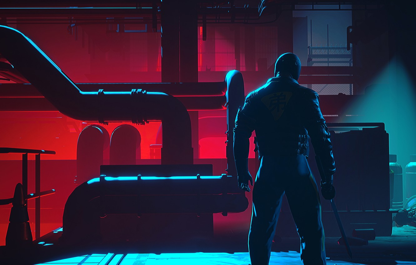 Photo wallpaper the game, RUINER, action-shooter