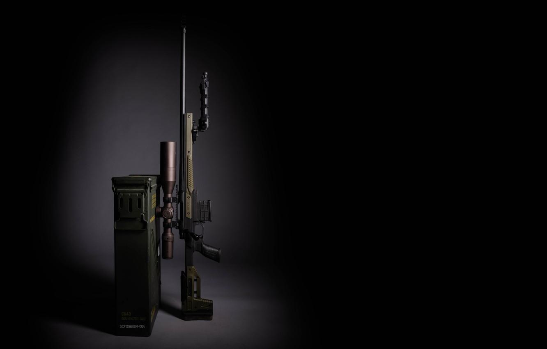 Photo wallpaper design, weapons, background, optics, sniper rifle
