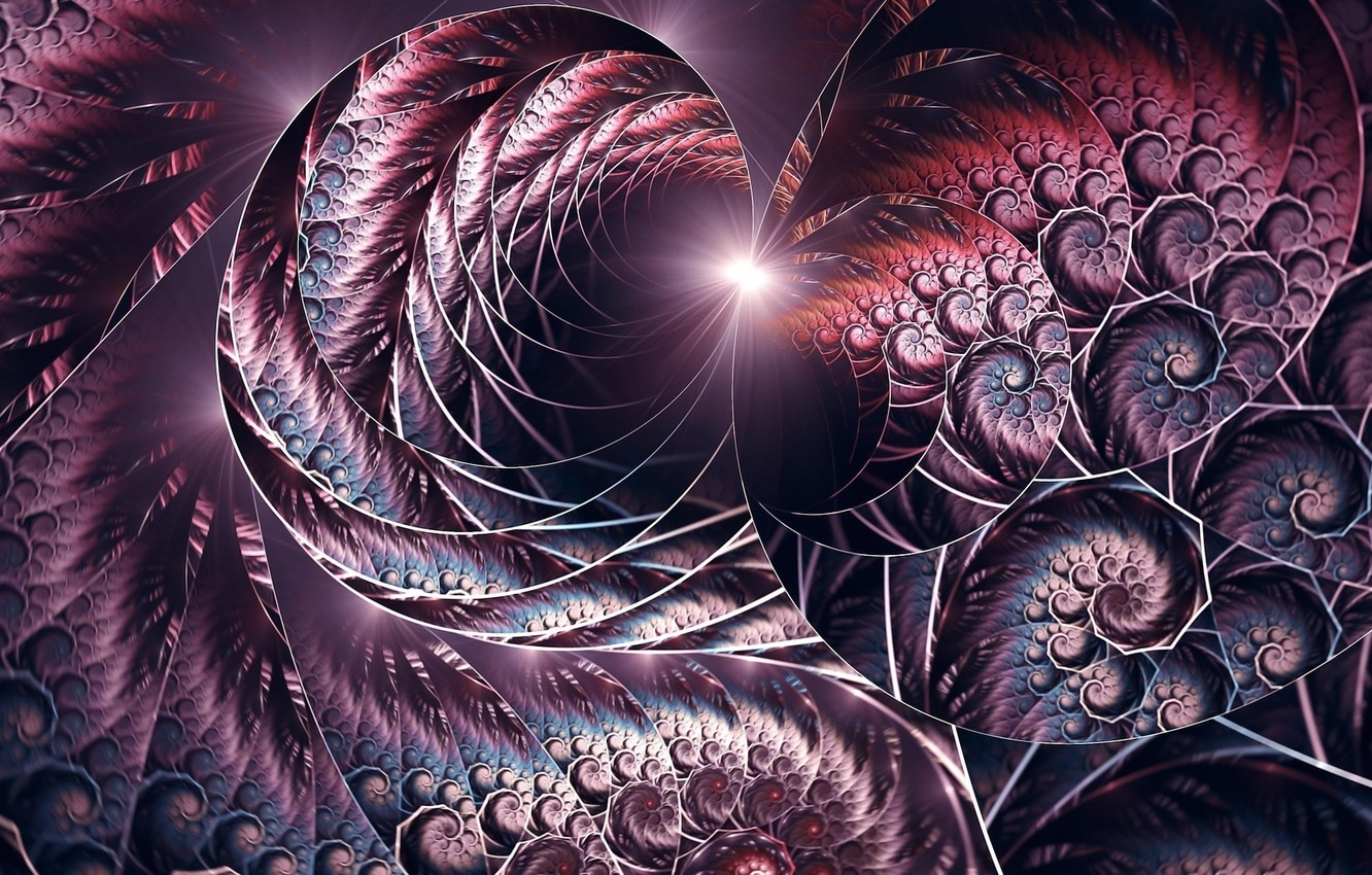 Photo wallpaper light, abstraction, background, fractals, figure, flash, spiral, screensaver on your desktop, acrylic paint, fancy pattern, …