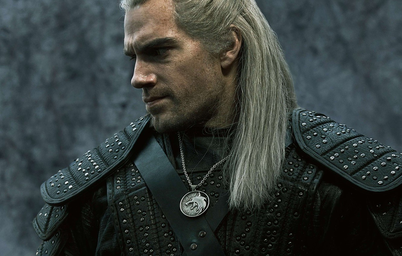 Photo wallpaper medallion, the witcher, the series, the Witcher, mutant, Henry Cavill, Henry Cavill, Netflix, series tv, …