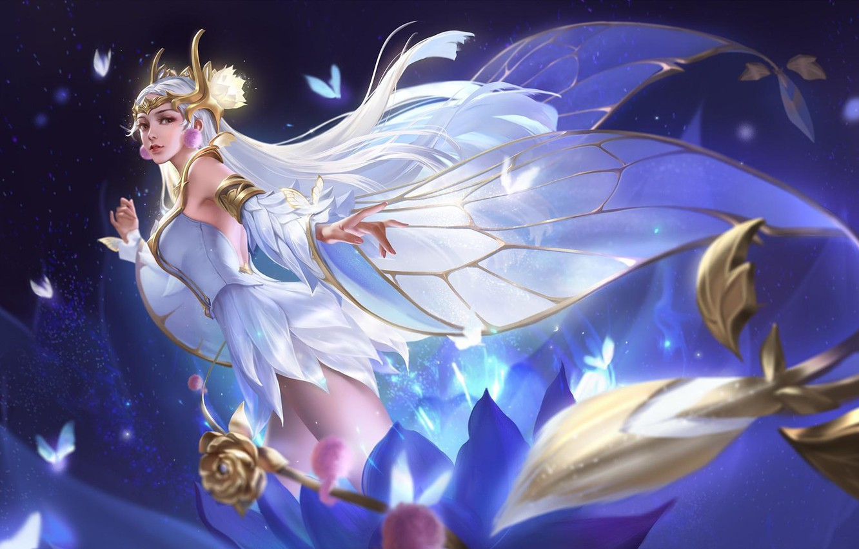 Wallpaper Girl Fantasy Fairy Images For Desktop Section