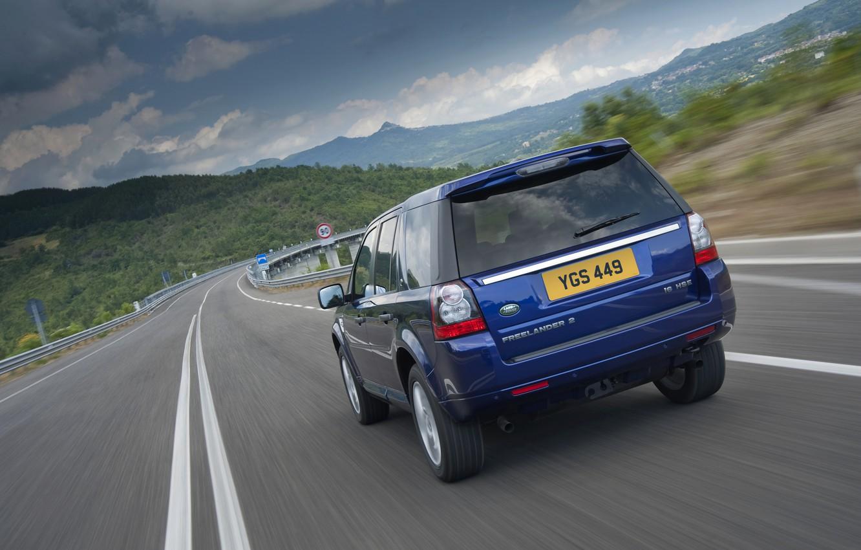 Photo wallpaper Land Rover, rear view, 2011, crossover, Freelander, SUV, Freelander 2, LR2, i6 HSE