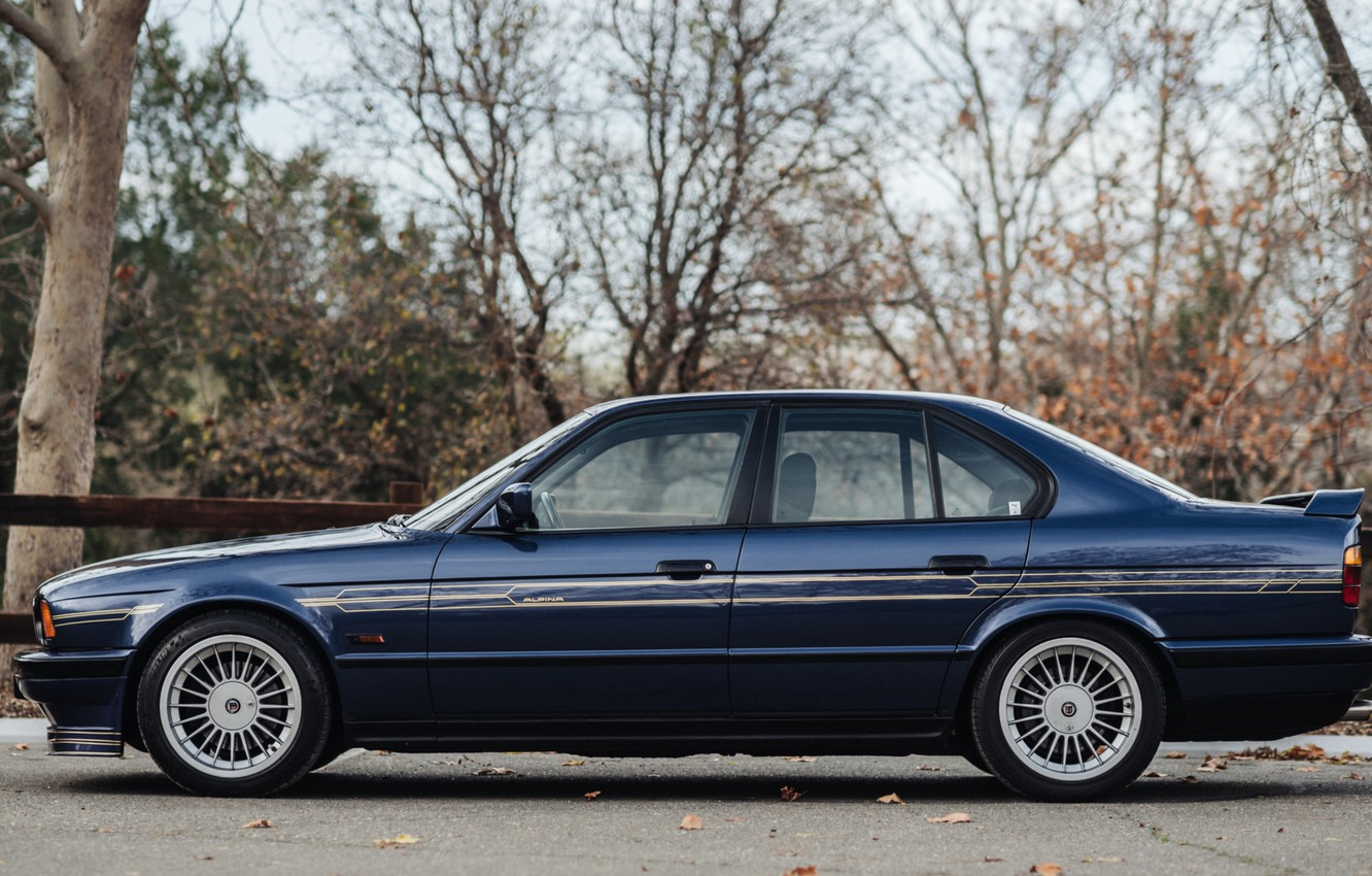 Photo wallpaper BMW, E34, ALPINA, B10, BITURBO