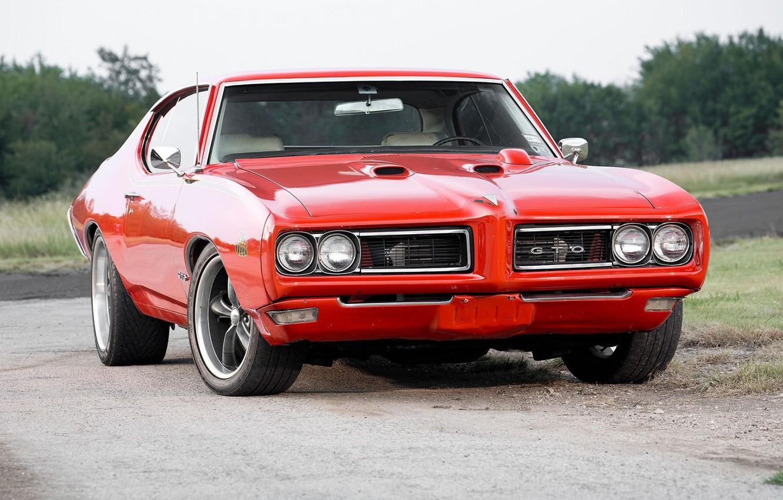 Photo wallpaper Coupe, Pontiac, GTO, Vehicle
