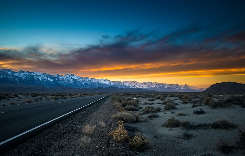 Photo wallpaper california, desert, owens valley, eastern sierras