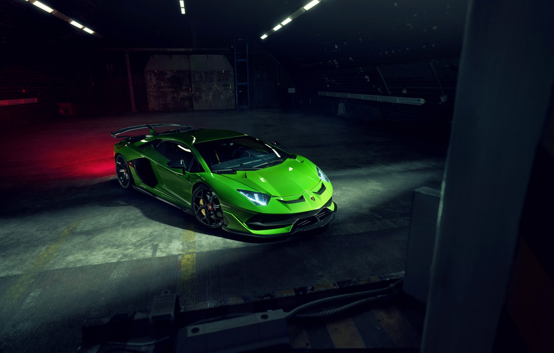 Photo wallpaper Lamborghini, supercar, Aventador, Novitec, SVJ, 2019, Aventador SVJ