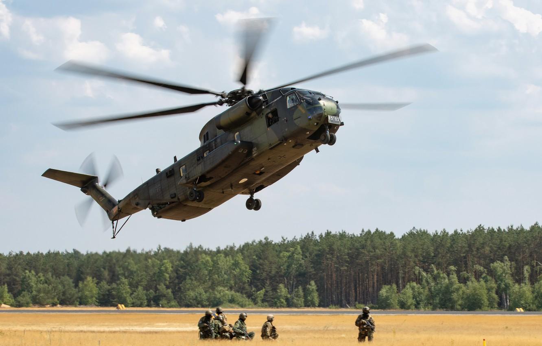 Wallpaper Heavy Ch 53 Super Stallion Transport Helicopter