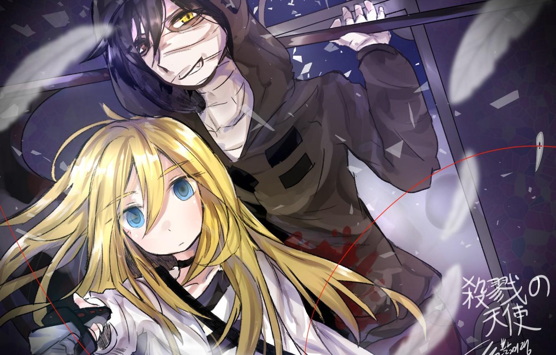 Photo wallpaper Rachel, Angel bloodshed, Satsuriku no Tenshi, Zach