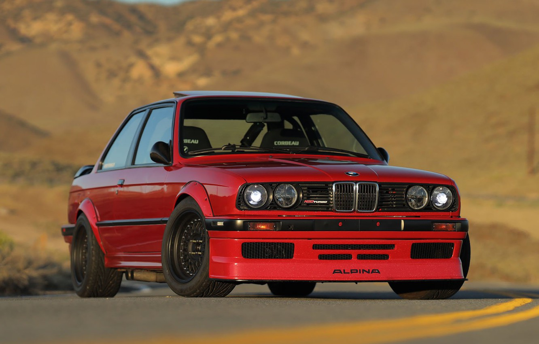 Photo wallpaper BMW, COUPE, E30, 325I