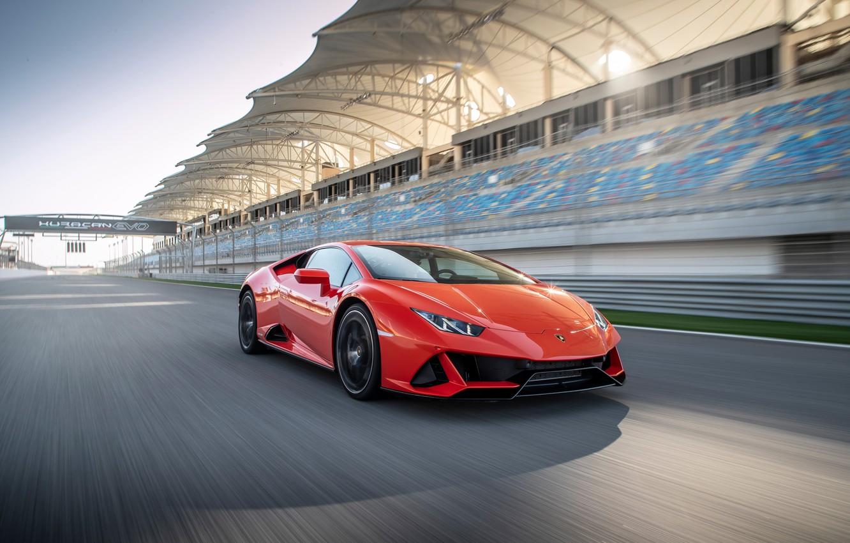 Wallpaper Speed Supercar Evo Huracan 2019 Lamborghini Huracan