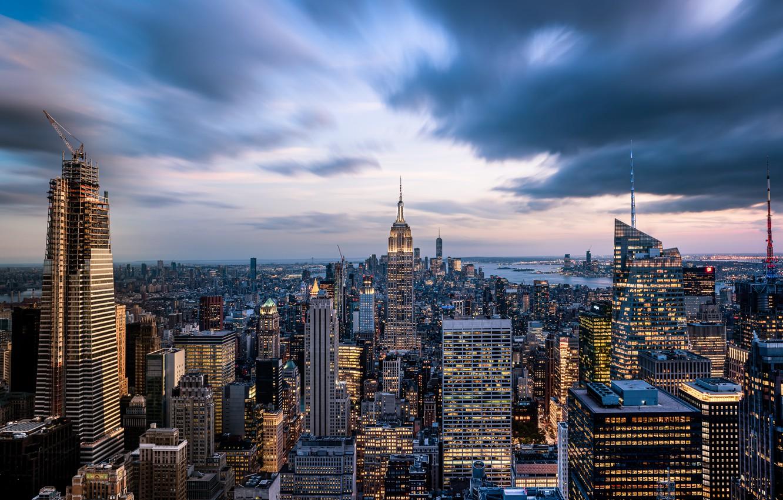 Photo wallpaper New York, USA, Manhattan, New York, Empire State Building