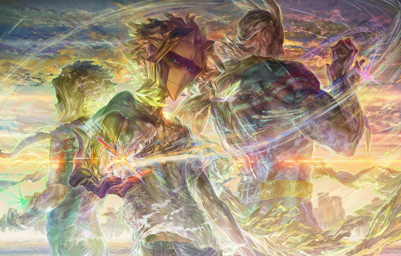 Photo wallpaper anime, art, Almighty, Boku no Hero Academy, My hero Academy