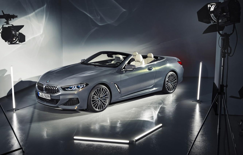 Photo wallpaper BMW, convertible, 2018, Cabrio, xDrive, 8-Series, M850i