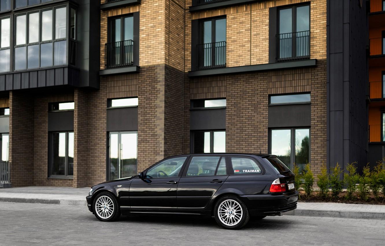 Photo wallpaper BMW, E46, TOURING