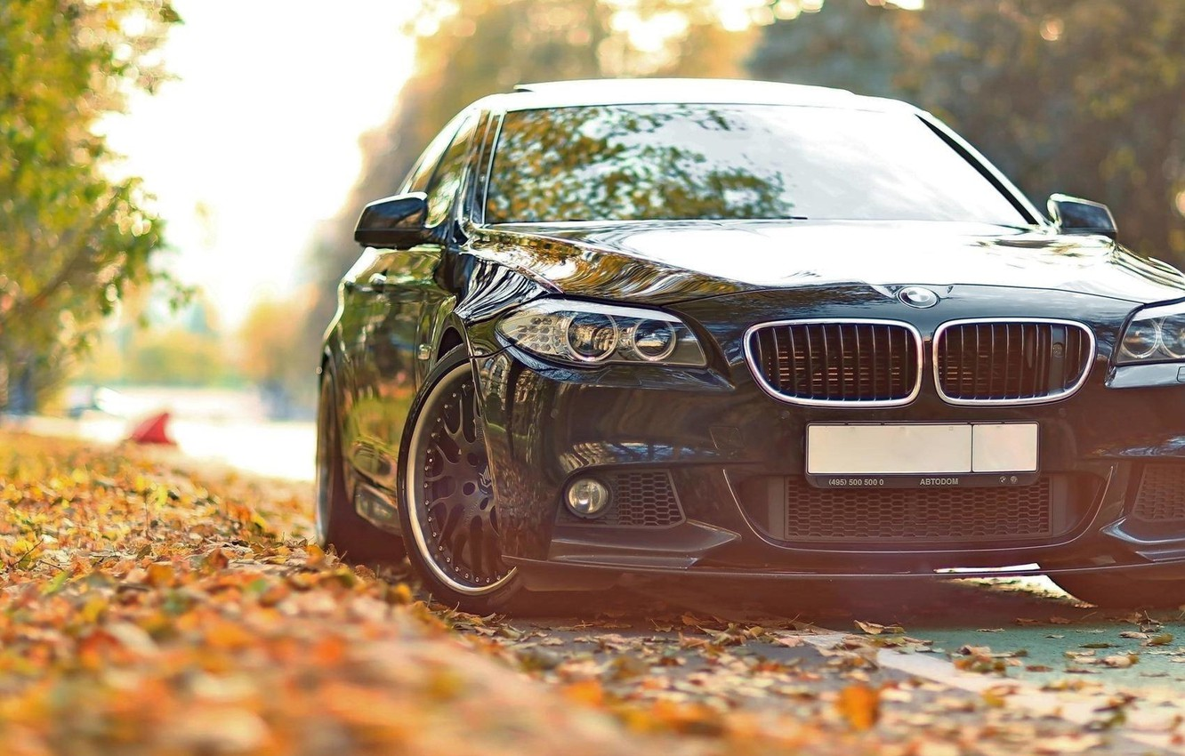 "Photo wallpaper BMW, sedan, 5 series, F10, 5 Series, the sixth generation of the BMW ""fifth"" series"