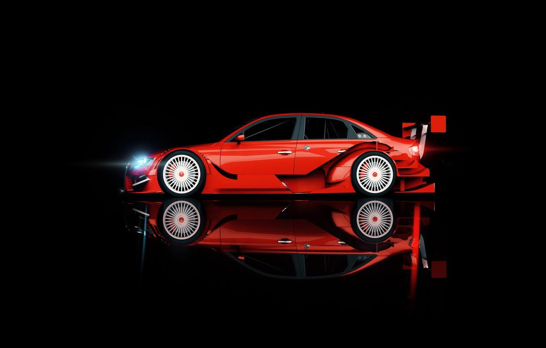 Wallpaper Audi Minimalism Audi Machine Background Side