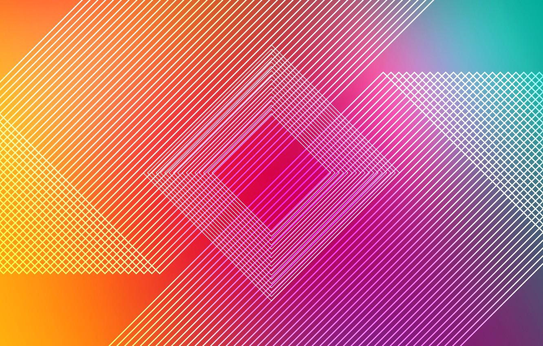Photo wallpaper line, background, figure, yellow, pink, lines, rhombus, fon, figures, rhombus