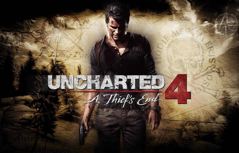 Wallpaper Gun Male Nathan Drake Uncharted 4 A Thief S End