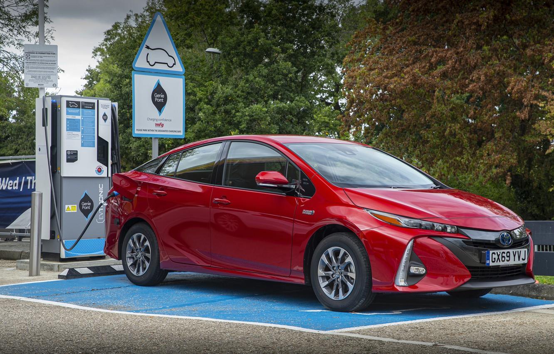 Photo wallpaper auto, photo, Toyota, Hybrid, Prius, Business Edition, 2019