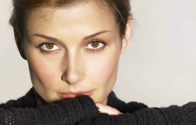 Photo wallpaper look, pose, model, portrait, actress, Bridget Moynahan, Bridgette Moynahan