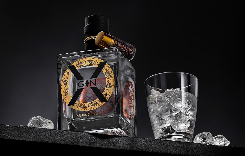 Photo wallpaper bottle, brand, alcohol