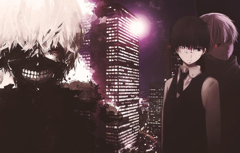 Photo wallpaper death, anime, costume, dead, anime, blonde, blonde, suit, Gul, Tokyo ghoul, tokyo ghoul, Ken kanek, …