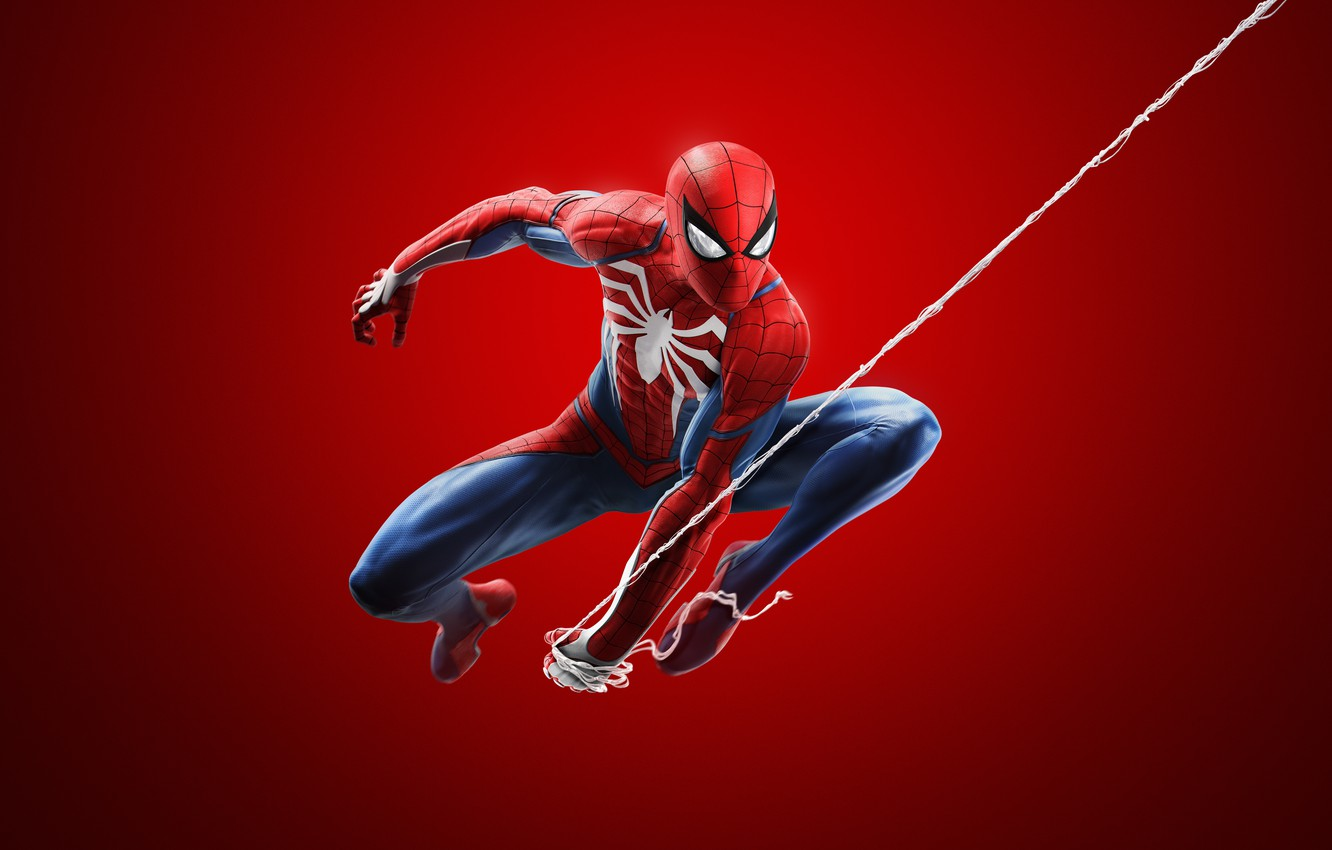 Photo wallpaper Spider-Man, Insomniac Games, Sony Interactive Entertainment, Spider-Man (2018)
