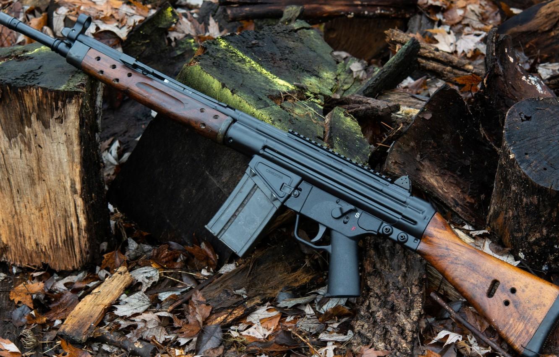 Photo wallpaper weapons, Machine, Gun, weapon, Assault rifle, Assault Rifle, Heckler-Koch HK G36, G3A3, Heckler-Koch, The Heckler …