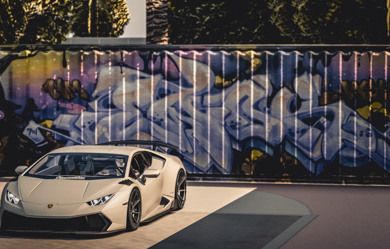 Photo wallpaper Lambordgini, Lamborghini Huracan, 2019