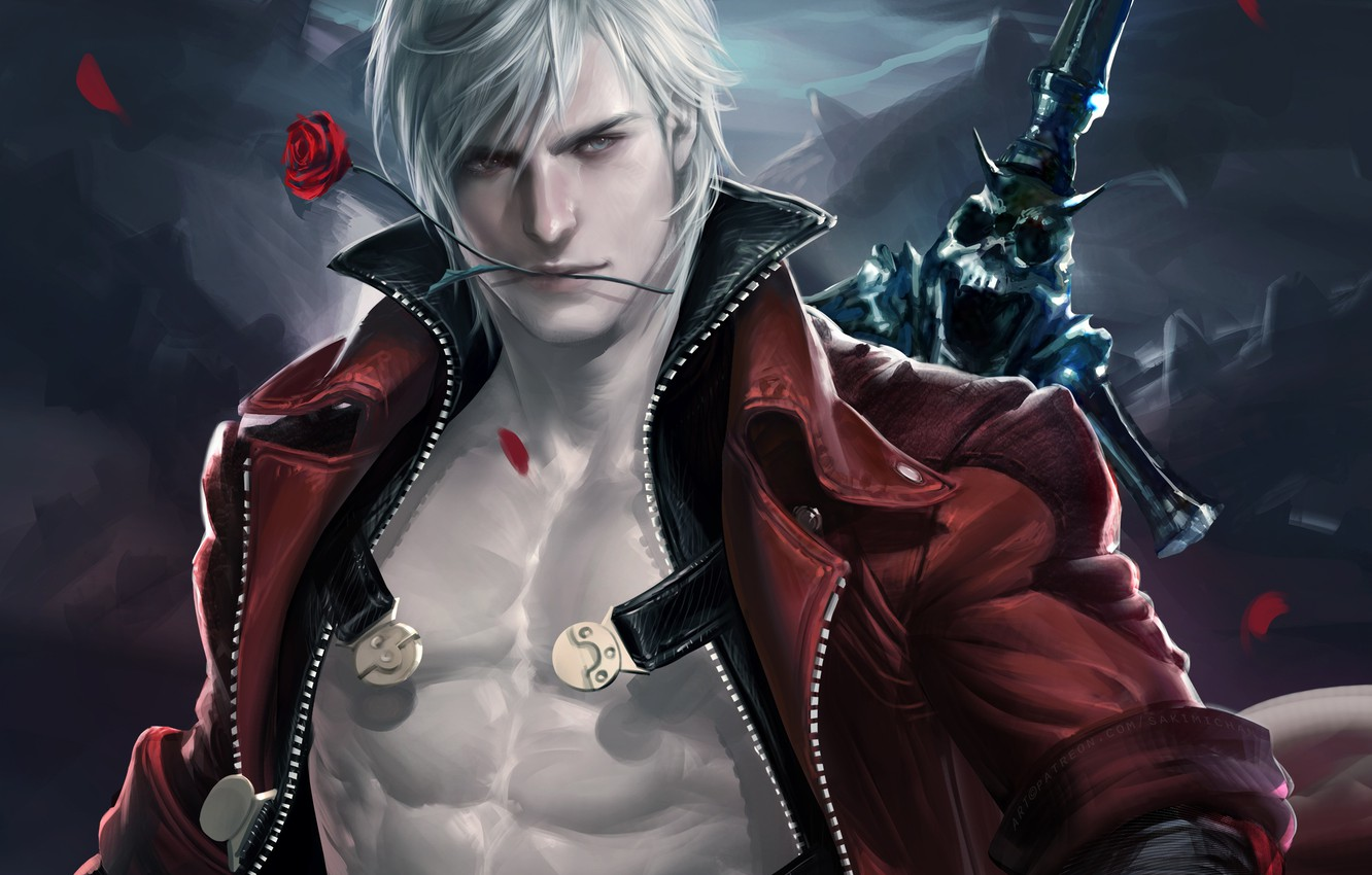 Wallpaper Even Devil May Cry Sakimichan Devil May Cry Dante