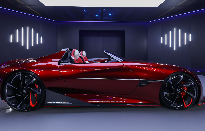 Photo wallpaper Concept, concept, roadster, sports car, SAIC, Magic Eye, MG Cyberster