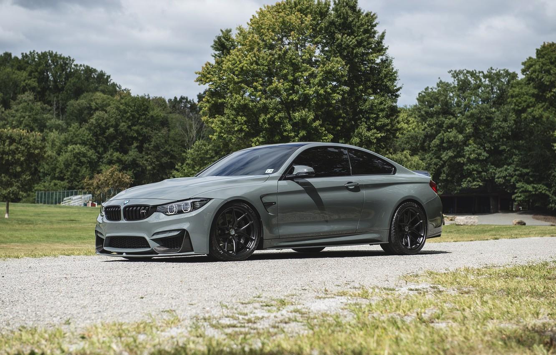 Photo wallpaper BMW, F82, Nardo Grey