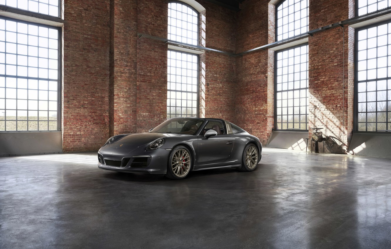 Photo wallpaper Porsche, the room, 4x4, Biturbo, Targa, special model, 911 Targa 4 GTS, Exclusive Manufaktur Edition