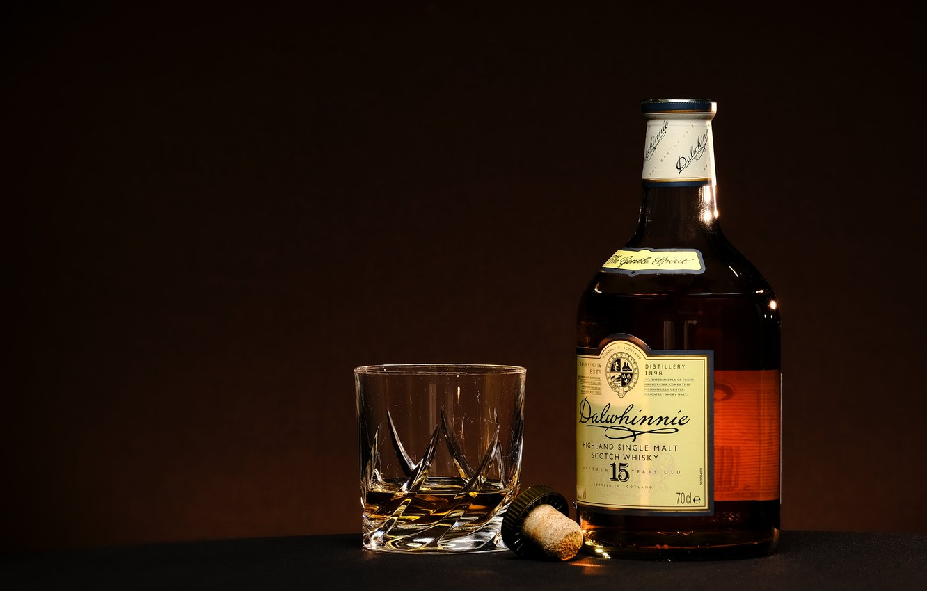 Photo wallpaper glass, flash, single-malt-whisky
