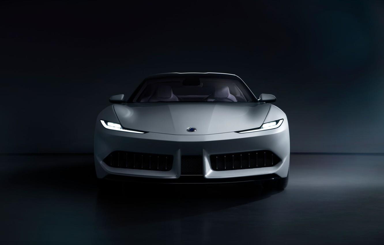 Photo wallpaper Front view, 2020, Electric Car, Karma Pininfarina GT