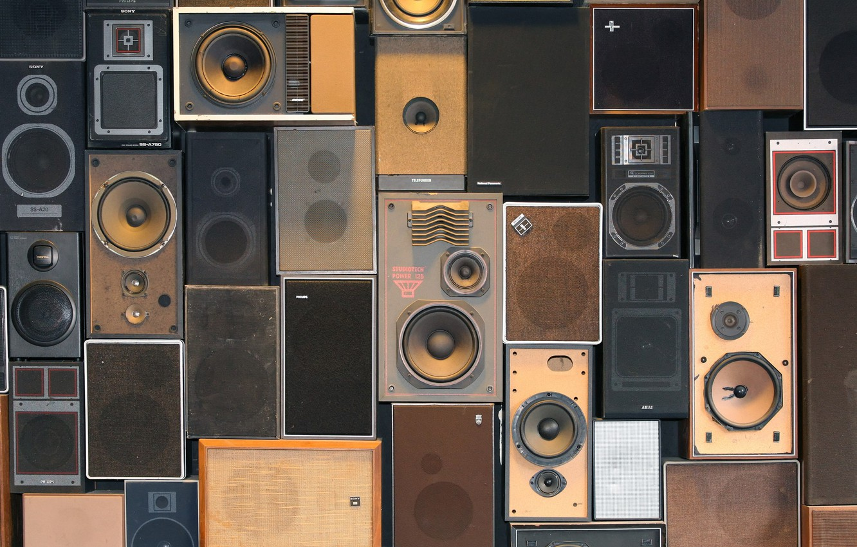 Photo wallpaper sound, speakers, audio, acoustics, music