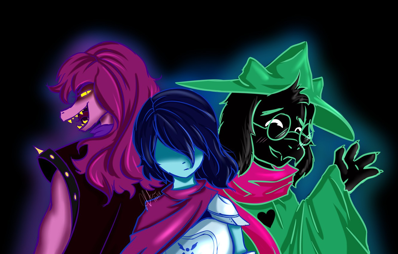 Wallpaper background, the game, characters, Deltarune images for