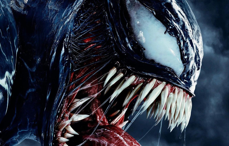 Photo wallpaper venom, venom, venom movie, 2018 movies