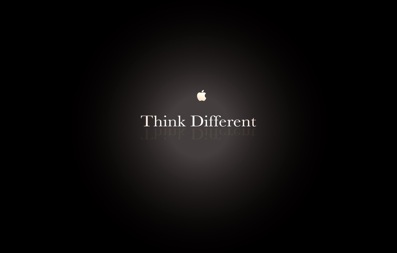 Photo wallpaper light, Apple, logo