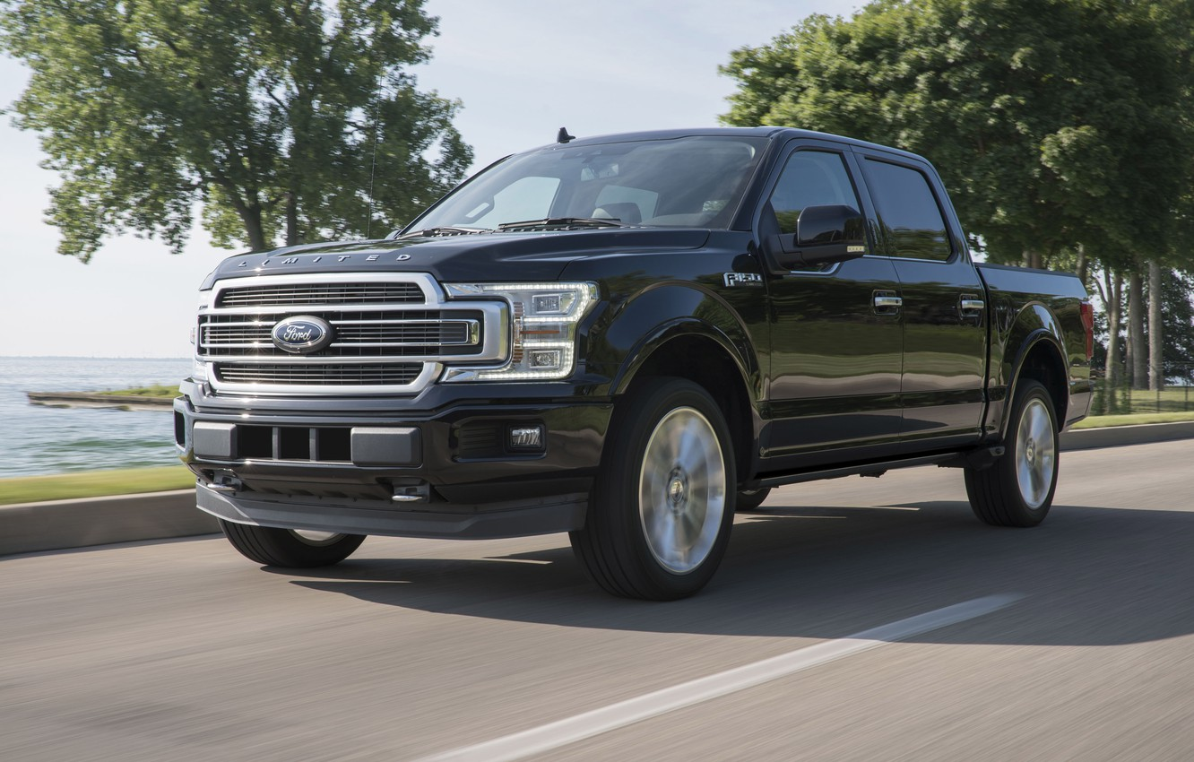 Photo wallpaper Road, Ford F-150, 2019, Pickup Truck