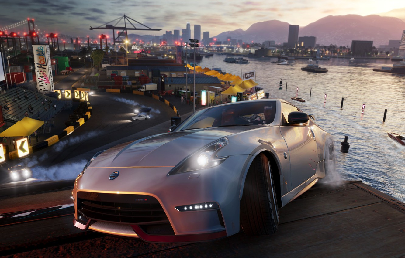 Wallpaper Nissan, game, Ubisoft, 370Z, The Crew 2 images for