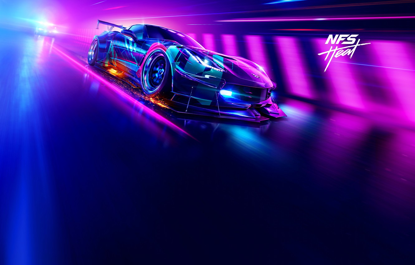Photo wallpaper Electronic Arts, Ghost Games, NFS Heat, Need for Speed Heat