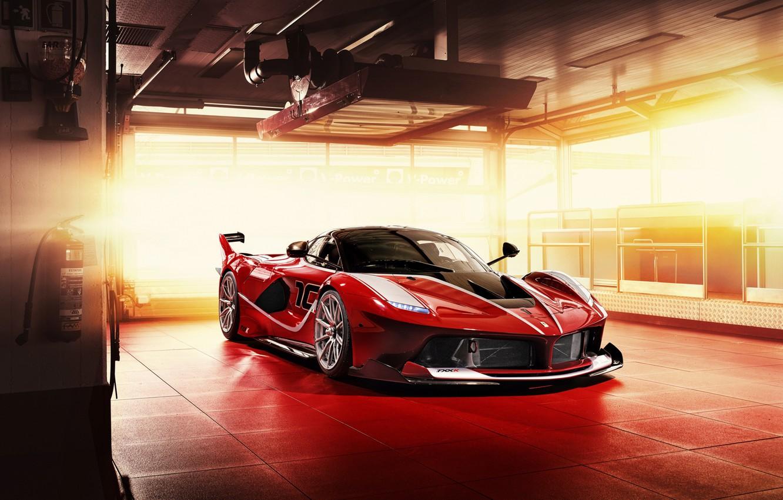 Photo wallpaper Ferrari, Scuderia, Italia, RED, LaFerrari, FXXK