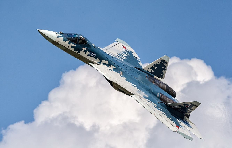 Photo wallpaper weapons, the plane, Su-57