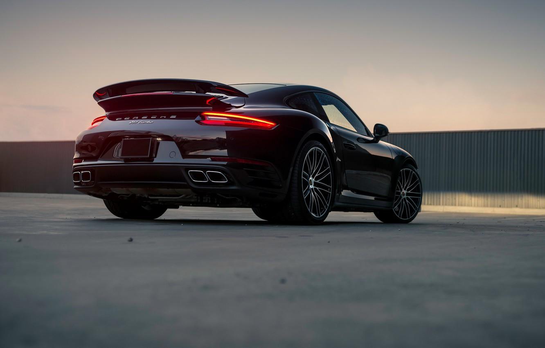 Photo wallpaper lights, 911, Porsche, Turbo