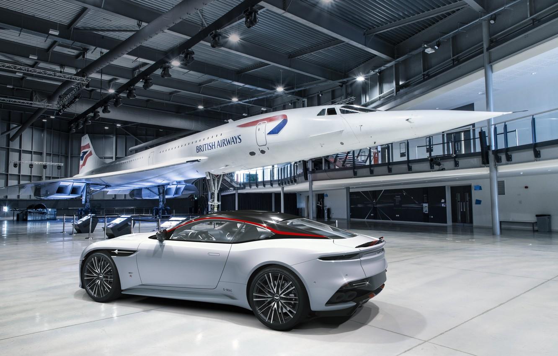 Photo wallpaper Aston Martin, DBS, supercar, Superleggera, 2020, Concorde Edition
