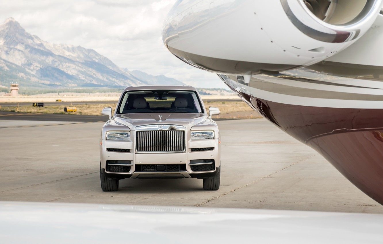 Wallpaper Rolls Royce Front View 2018 Cullinan Images For Desktop Section Drugie Marki Download