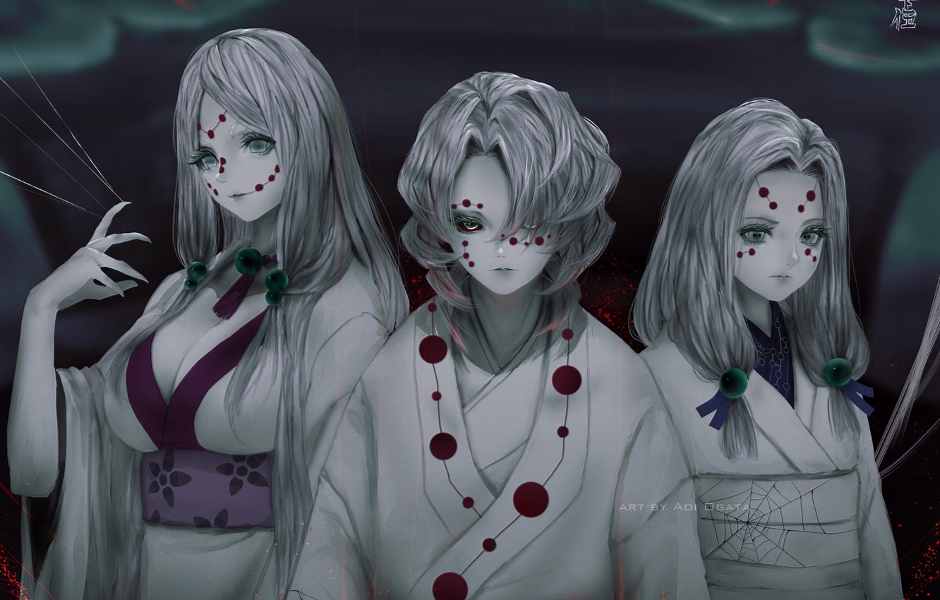 Wallpaper Ghosts Trio Horror Images For Desktop Section Prochee Download